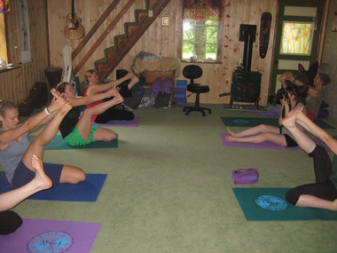 Sewall House Yoga Retreat Small Classes Yoga Studio