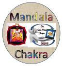 Mandala chakra yoga peinture