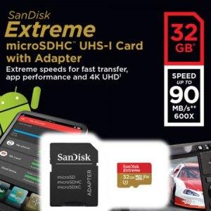SandiskExtreme32GBMicroSDHC