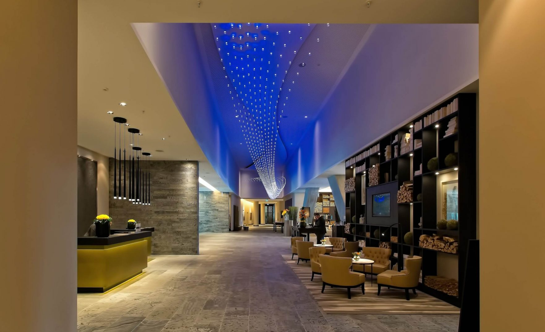 main enternce to hotel