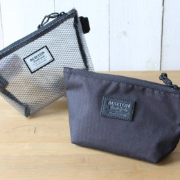 "BURTON ""UTILITY POUCH SMALL"" & ""ACCESSORY CASE"""