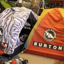 """今年はBURTONでキャンプを始めよう! BigAgnes×BURTON """"BLACKTAIL 2 TENT"""""""
