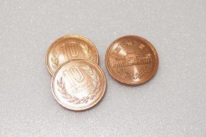 玄関,臭い,10円玉