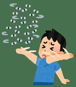 梅雨のコバエ対策