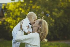 出産後のママと赤ちゃん