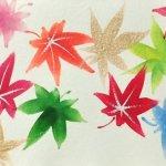 【一筆画】秋の絵柄 もみじをレッスン!