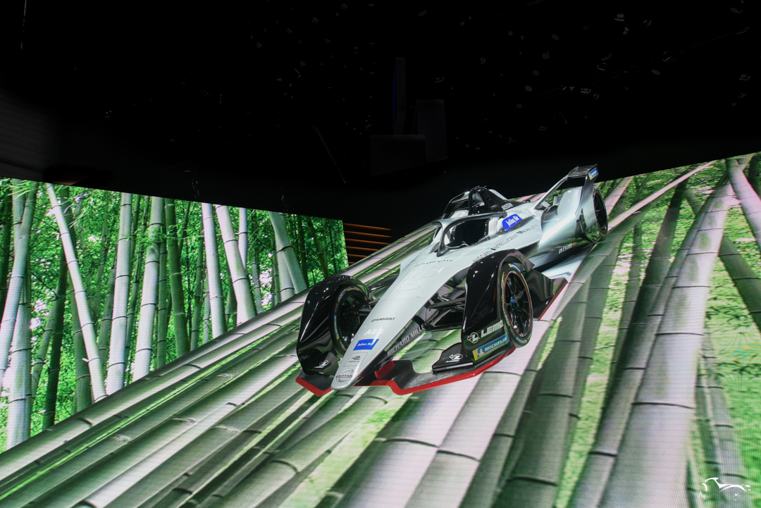 Nissan Formula E Racing car
