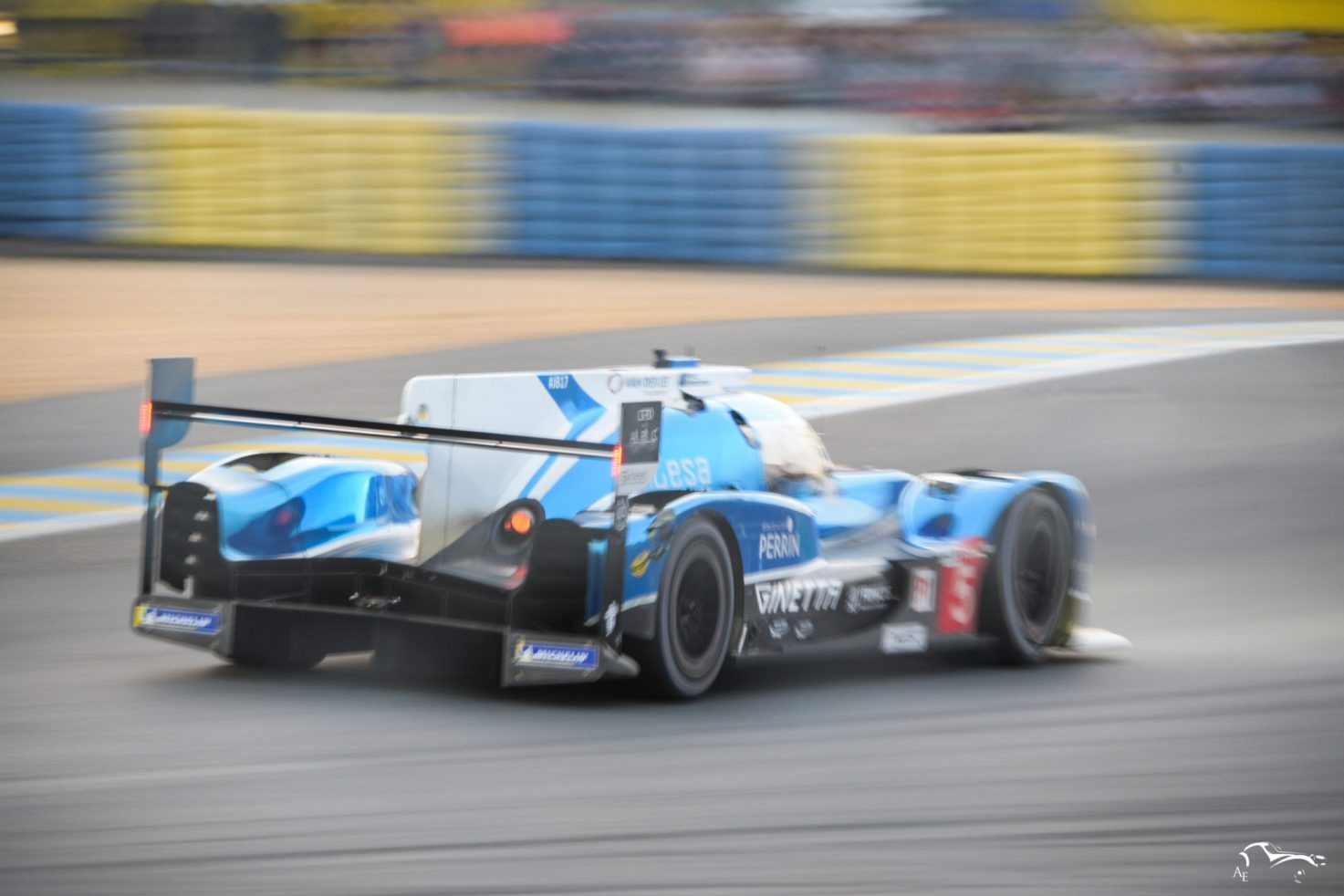 CEFC Manor TRS Racing Ginetta G60-LT-P1-Mecachrome
