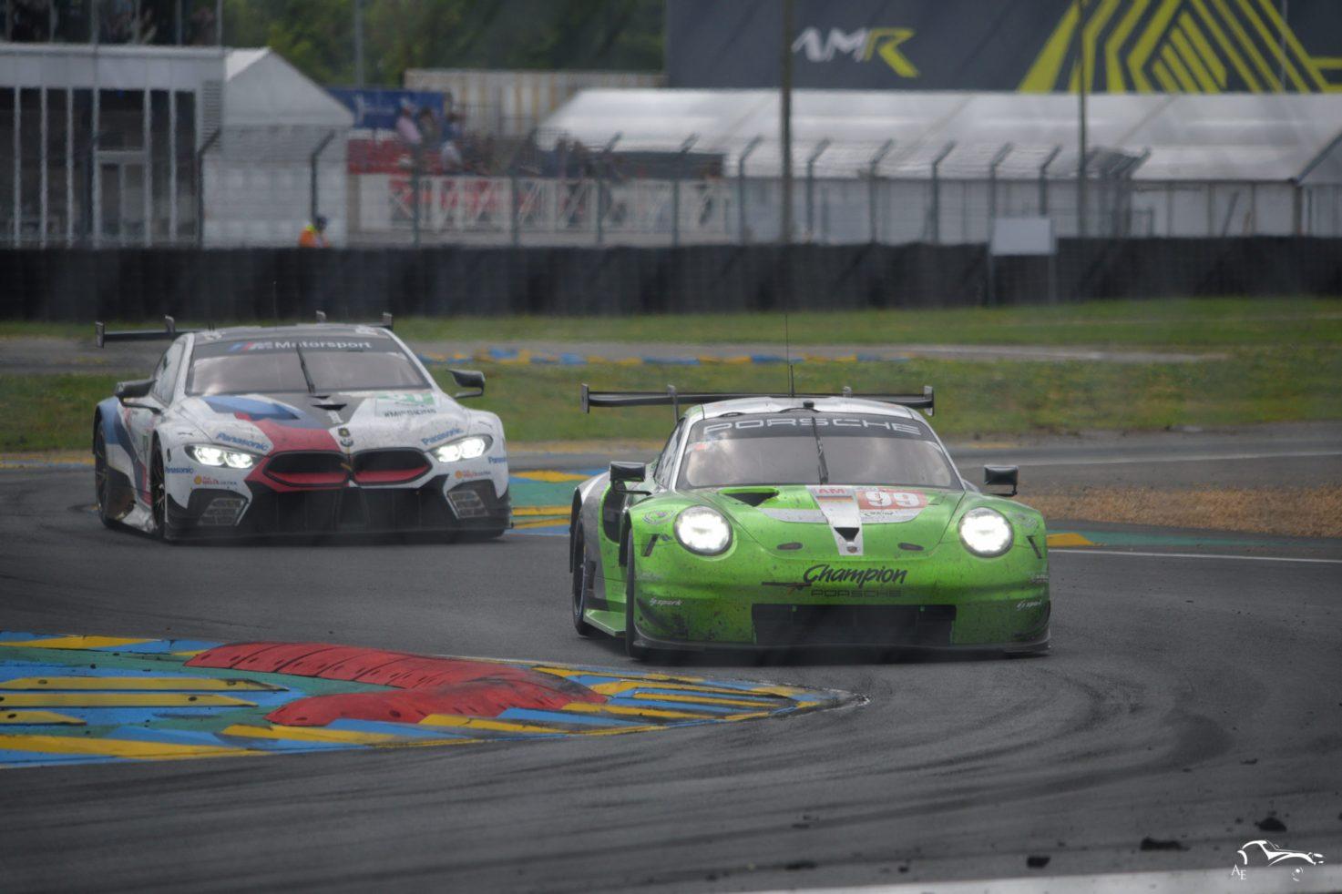 Porsche 911 RSR & BMW M8 GTE