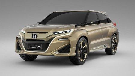 Весной стартуют продажи нового кросс-купе Хонда UR-V