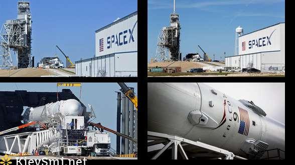 SpaceX отменила запуск Falcon 9 заполминуты достарта