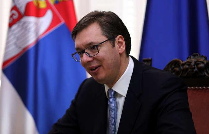 Премьер Сербии Александр Вучич официально стал кандидатом впрезиденты