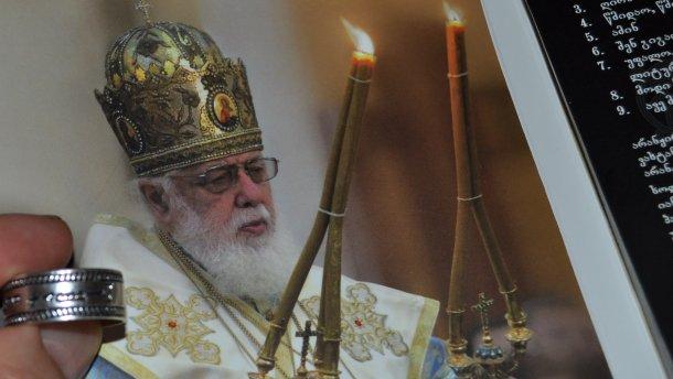 ВГрузии после попытки отравления патриарха ИлииII упротоиерея отыскали оружие