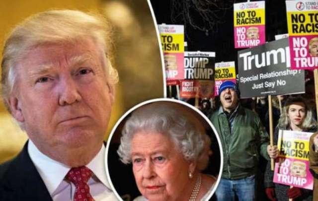 Правительство Терезы Мэй отказалось принимать петицию о запрете государственного визита Трампа