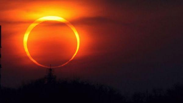 Уик-энд ознаменуется необыкновенным затмением солнца
