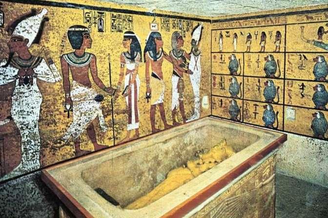 Ученые отыщут секретную комнату вгробнице Тутанхамона