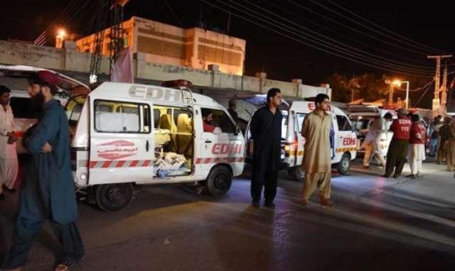 Взрыв наюге Пакистана забрал жизни как минимум 50 человек