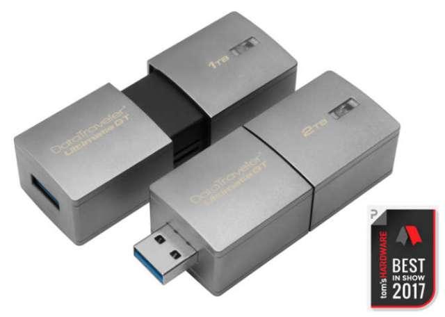 Модель DTUGT/2TB объемом 2 ТБ стоит $1319