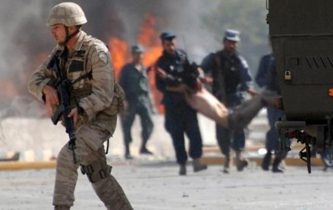 Рядом созданием артиллерийского училища вКабуле прогремел мощнейший взрыв