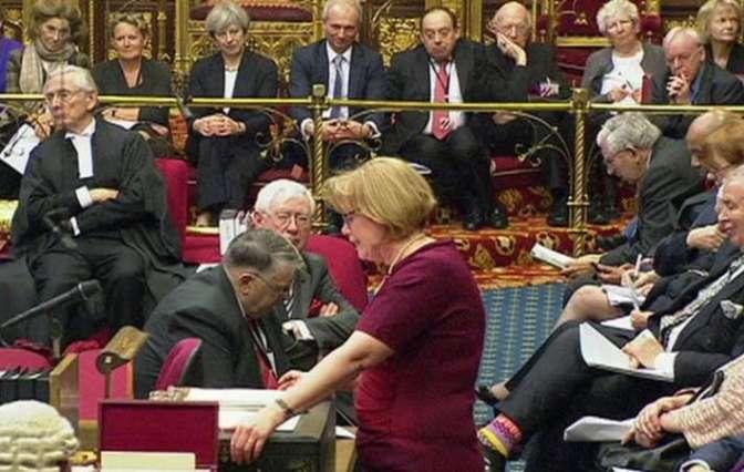 Британская палата лордов может затормозить процесс Brexit