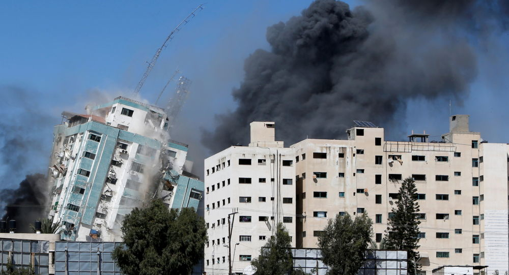 Официальные лица Израиля выражают сожаление по поводу уничтожения здания СМИ в Газе, говорится в отчете