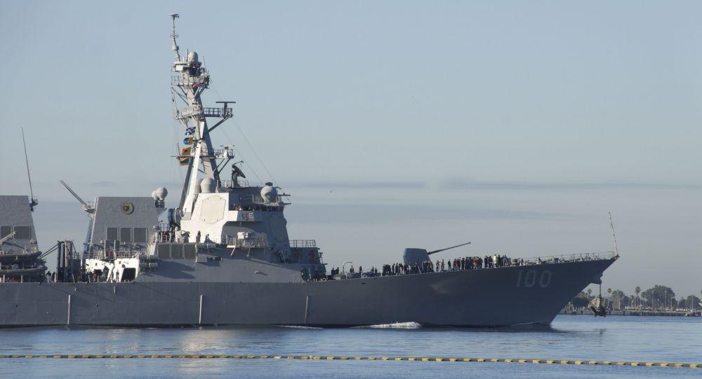 Китай возмущен провокационным проходом кораблей ВМС США и береговой охраны в Тайваньском проливе