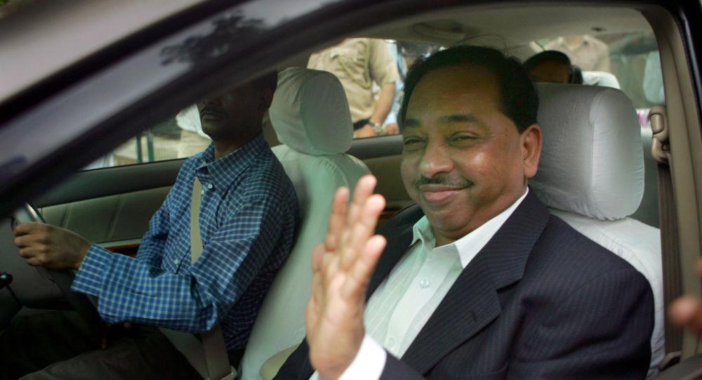 Министр Индии Нараян Рэйн арестован за заявление о том, что он «ударил» вождя Махараштры