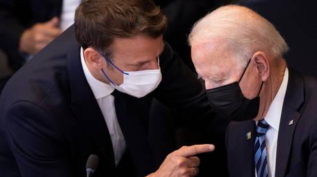 Франция требует от Байдена «конкретных мер» после нарушения субподряда, заявляет, что США должны уважать европейский суверенитет