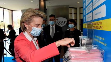 Начато расследование отказа главы Еврокомиссии передать текстовые сообщения, которыми она обменивалась с генеральным директором Pfizer