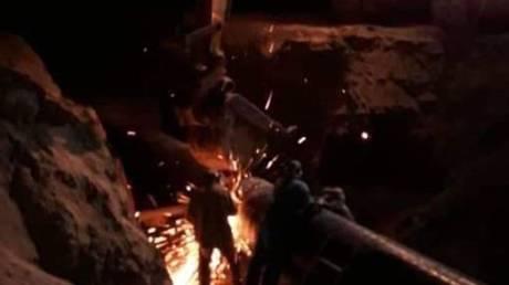 Сирия ремонтирует газопровод и восстанавливает электроэнергию после того, как в результате террористической атаки ИГИЛ Дамаск погрузился во тьму