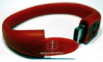 USB bracelet from Medical Alert Drives