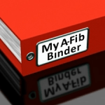 Keep your medical records in a binder or folder.