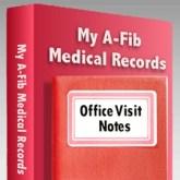 Make Medical Record-Keeping a Habit Graphic at A-Fib.com