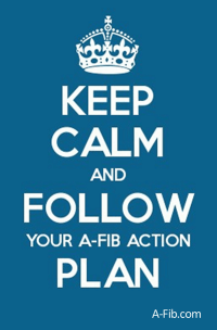 Keep Calm and Follow Your A-Fib Action Plan - A-Fib.com