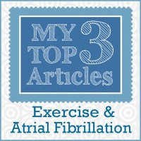 My Top 3 Articles - Exercise and A-Fib 400 sq at 96 res