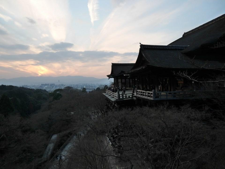 Vue du Kiyomizu-dera