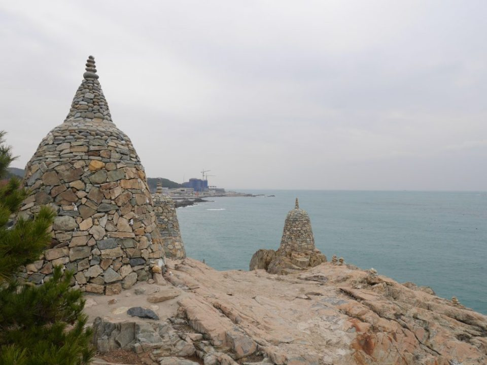 """Sirangdae"", formations de pierres"