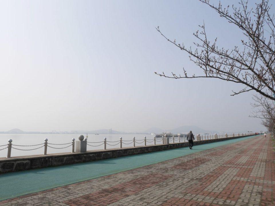 La côte à Mokpo