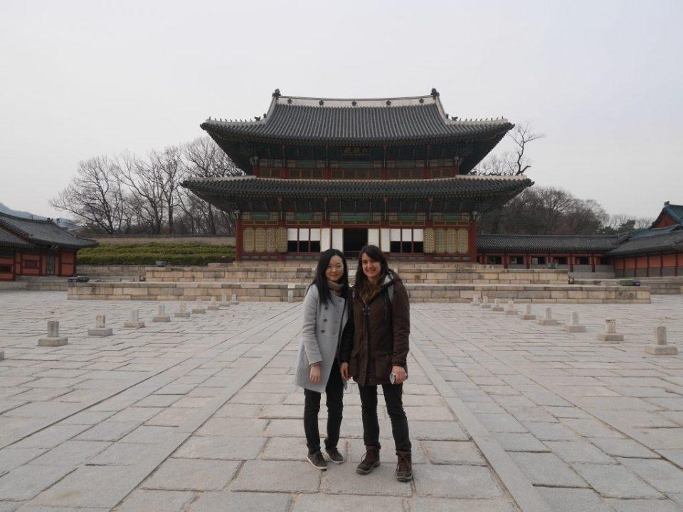 Eun Jeong et moi