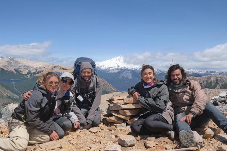 De gauche à droite : Laura, Moi, Dante, Carolina et Lucas