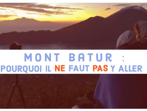 Mont Batur : Pourquoi il ne faut pas y aller blog Post