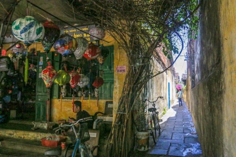 A bright alley