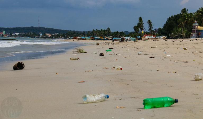 Plage à Trincomalee