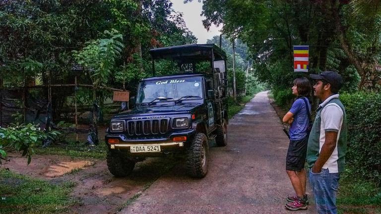 Notre jeep pour le safari