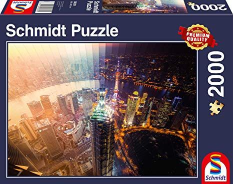 Schmidt Puzzle Day and Night Time slice 2000 db