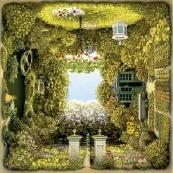 Schmidt Puzzle The Romantic Garden Jacek Yerka 1000 db