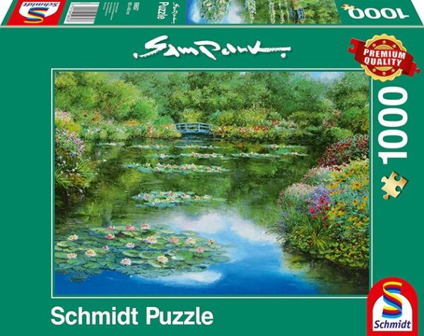 Schmidt Puzzle –Water lily pond, 1000 db