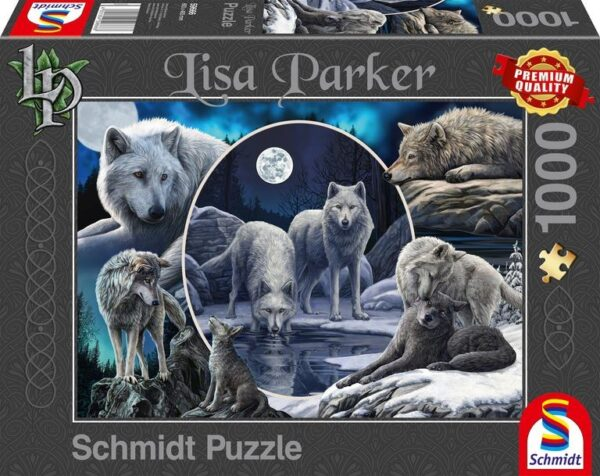 Schmidt Puzzle – Magnificent wolves, 1000 db