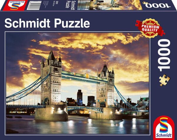 Schmidt Puzzle Tower Bridge London, 1000 db