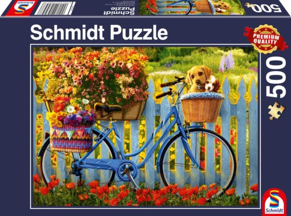 Schmidt Puzzle-Sunday outing with good friends, 500 db
